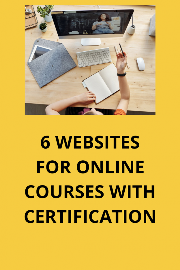 6 websites for free online courses with certification